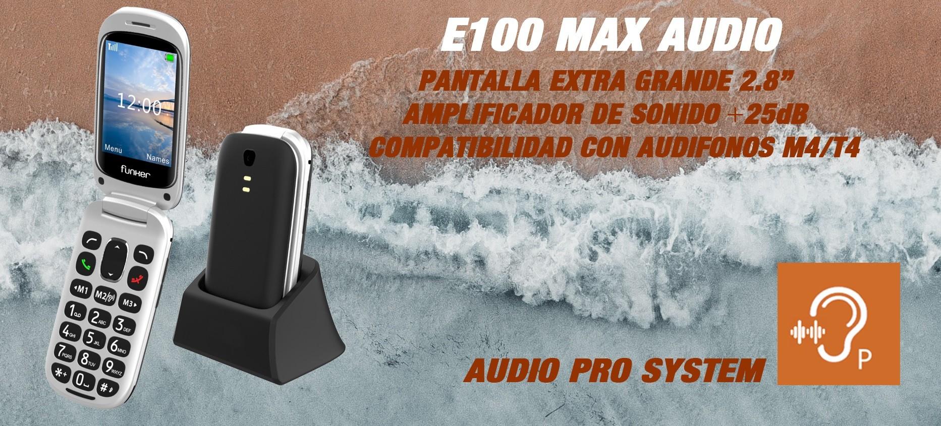 E100 MAX AUDIO